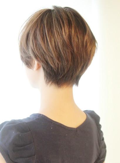2020春夏 今週1位のショート ショートボブ 年代 40代の髪型は ヘア