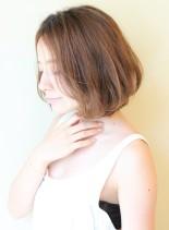 30代40代50代〜のナチュラルボブ(髪型ボブ)