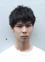 2ブロックマッシュレイヤー(髪型メンズ)