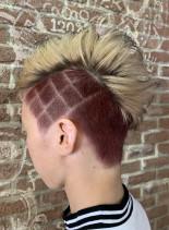 お祭りヘア(髪型メンズ)