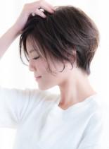 30代40代50代 ボリュームショート(髪型ショートヘア)