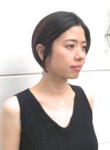艶髪ショート(髪型ショートヘア)