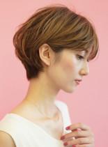 30代40代手入れ簡単大人ショートカット(髪型ショートヘア)