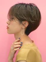 30代40代☆大人ハンサムショートカット(髪型ショートヘア)