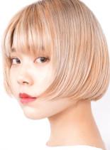 ミニショートボブ(髪型ショートヘア)