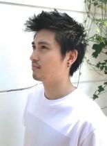 刈り上げないメンズショート(髪型メンズ)