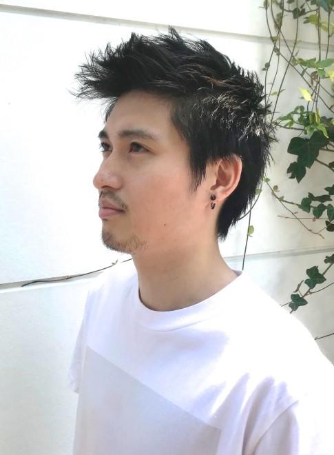 メンズ】刈り上げないメンズショート/BEAUTRIUM 福岡の髪型