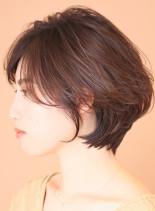 ☆大人のやんわり☆美ショート(髪型ショートヘア)