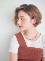 ハンサムショートボブ(髪型ショートヘア)