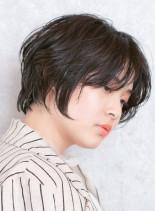 360°美シルエット☆コンパクトショート(髪型ショートヘア)