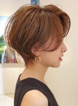 大人のハンサムショート◇(髪型ショートヘア)