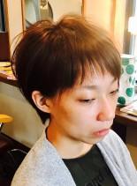 ハンサムすっきりショート(髪型ショートヘア)