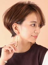 大人女性にオススメの美人ショートボブ◇(髪型ショートヘア)