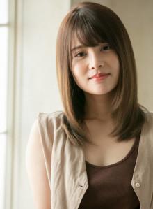 美髪 カジュアルストレート(ビューティーナビ)