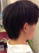 クセ毛対策 メンズ縮毛矯正(髪型メンズ)
