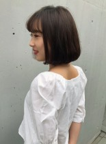 大人のつや髪ボブ(髪型ボブ)
