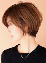 小顔と似合わせならひし形シルエット☆(髪型ショートヘア)