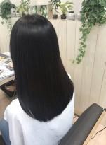 サラつや美髪ロングスタイル
