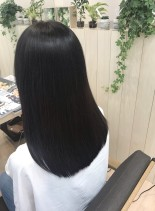 サラつや美髪ロングスタイル(髪型セミロング)