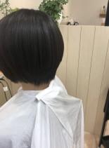 艶やかショート(髪型ショートヘア)