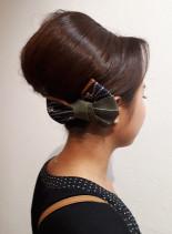 祭りスタイル ヘアーセット(髪型セミロング)