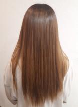 髪質改善エステ(髪型セミロング)
