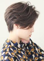 大人美人☆ワンサイドショート(髪型ショートヘア)