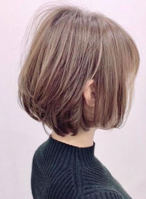 ボブ】30代40代におすすめ!小顔ショートボブ/AFLOAT JAPANの髪型 ...