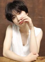 スタイリング簡単☆大人レイヤーショート(髪型ショートヘア)