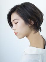大人の柔らか透明感ショートヘア(髪型ショートヘア)
