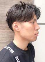 ビジネス×大人センターパート(髪型メンズ)