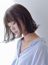 大人可愛◇外ハネワンレンボブ(髪型ボブ)