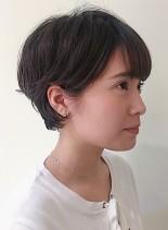 外国人風ふわふわショートヘア(髪型ショートヘア)