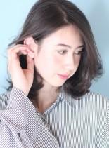30代*40代大人の上品オフィスミディ☆(髪型ミディアム)