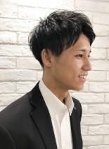 ビジネスマンショート(髪型メンズ)