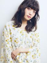 重軽ウエーブセミディ☆(髪型セミロング)