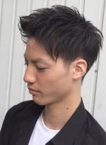 ワイルドアップショート(髪型メンズ)