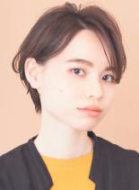 ☆初めての方に☆オススメこなれショート(髪型ショートヘア)