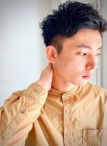 フレキシブルショート(髪型メンズ)