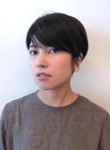 衿あしすっきり大人ショート(髪型ショートヘア)
