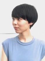 A/Wシンプルマッシュ(髪型ショートヘア)
