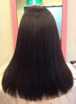 ストレートセミロング(髪型セミロング)