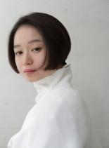 ネープレスなミニボブ(髪型ショートヘア)