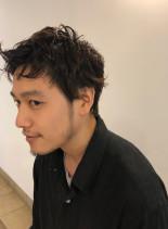 ニュアンスパーマ(髪型メンズ)