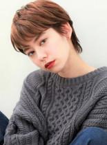 抜け感ショート(髪型ショートヘア)