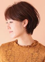 ボリュームUP◇小顔ショートヘア(髪型ショートヘア)