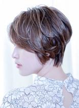 滝川クリステル風ショート(髪型ショートヘア)