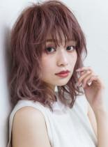 メロウレイヤー(髪型ミディアム)