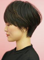 お手入れ簡単☆大人女性のショートカット(髪型ショートヘア)