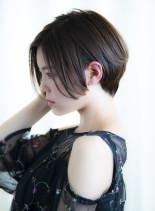 後頭部のボリューム◎ひし形ショート(髪型ショートヘア)